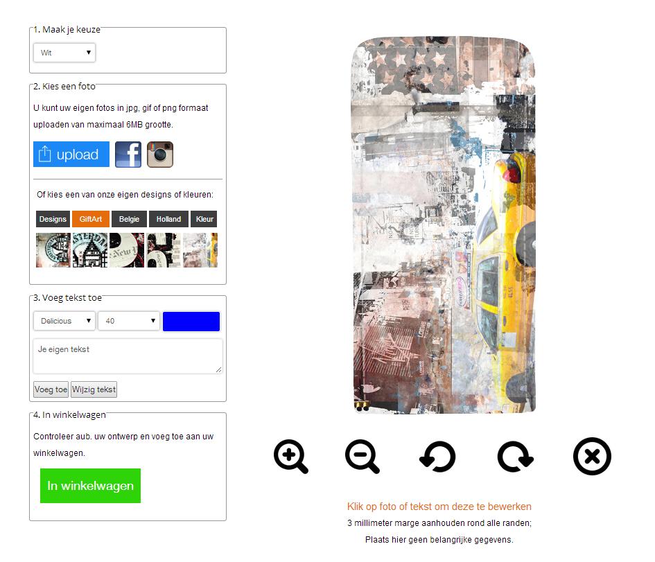 Samsung Galaxy S5 Flipcase mit Foto