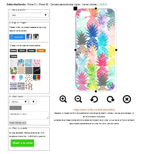 Individuelles iPhone SE Case
