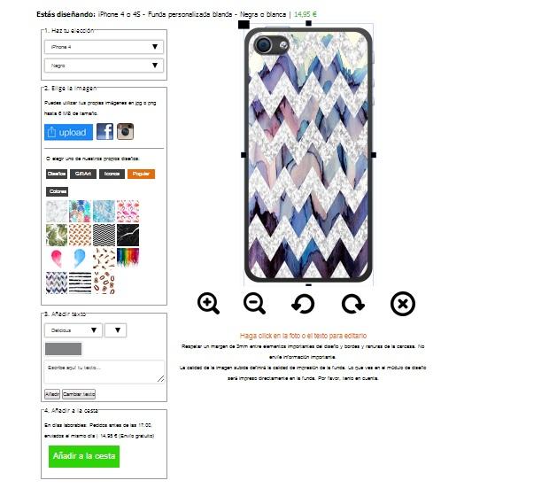 iPhone 4s Softcase selbst gestalten