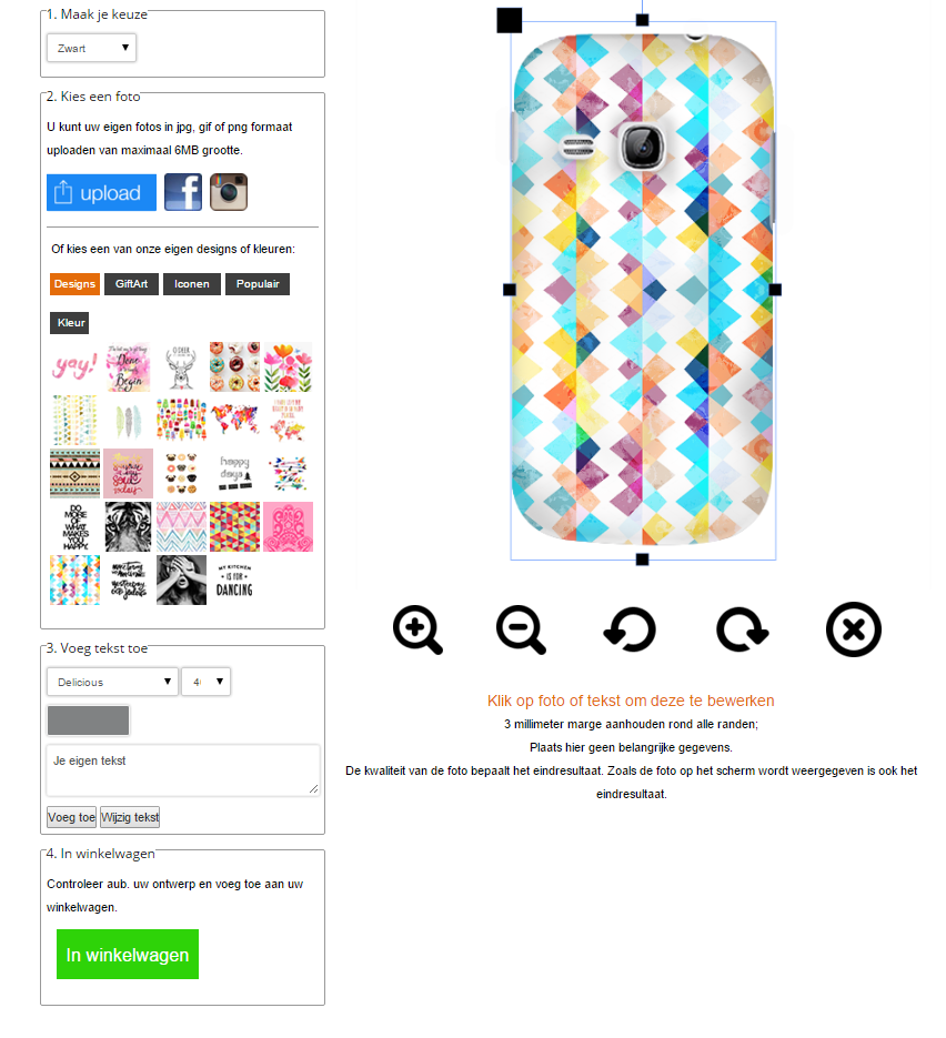 Samsung Galaxy Young Hardcase mit Foto
