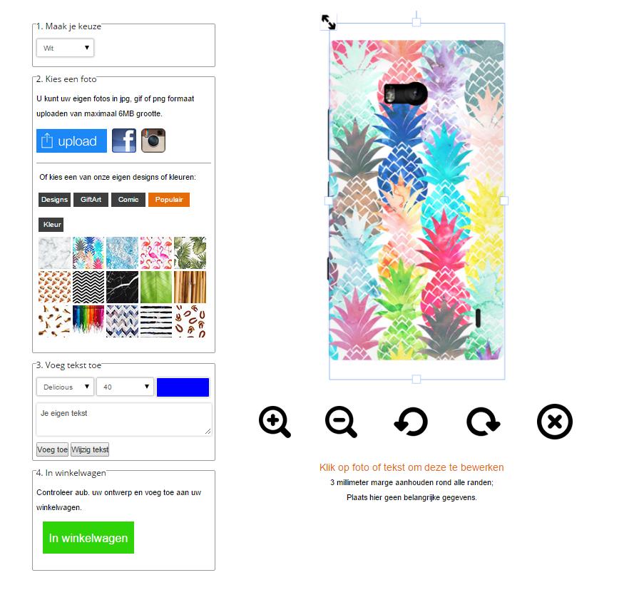 Lumia 930 Hülle selbst gestalten