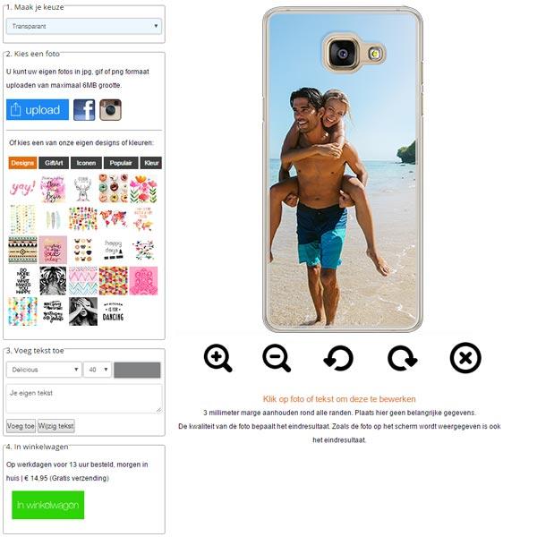 Galaxy A5 Handyhülle selbst gestalten