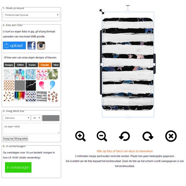 Samsung Galaxy Note 5 Handyhülle mit Foto und Text