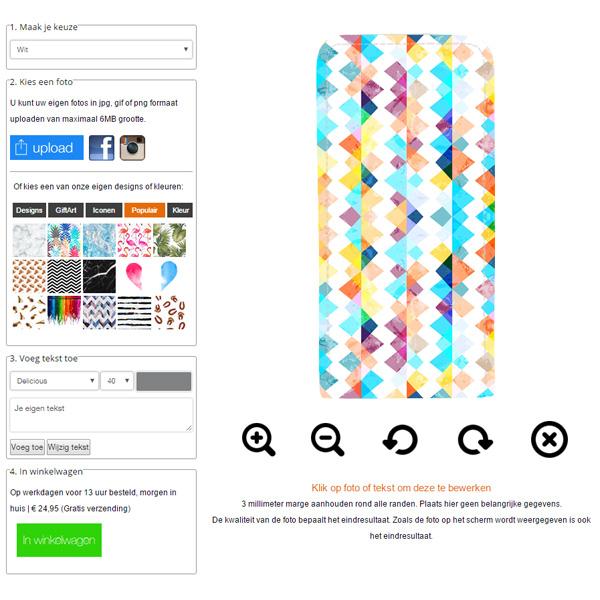 Samsung Galaxy S4 Flipcase selbst gestalten