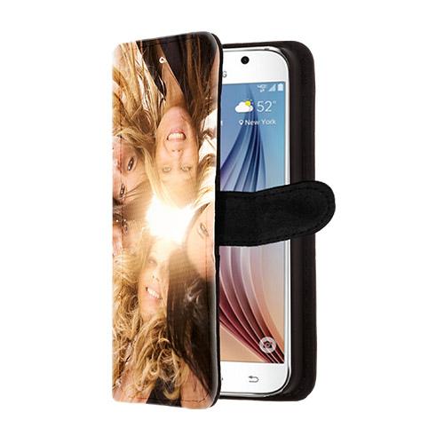 flip case s6 selbst gestalten wallet case mit foto. Black Bedroom Furniture Sets. Home Design Ideas