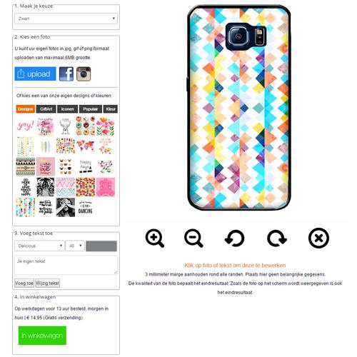 Galaxy S7 Fotohülle gestalten