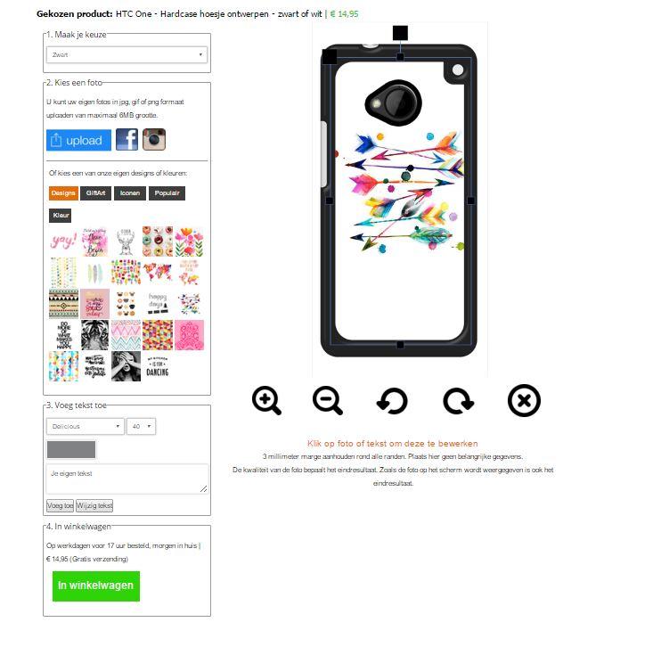 HTC One Hardcase selber machen