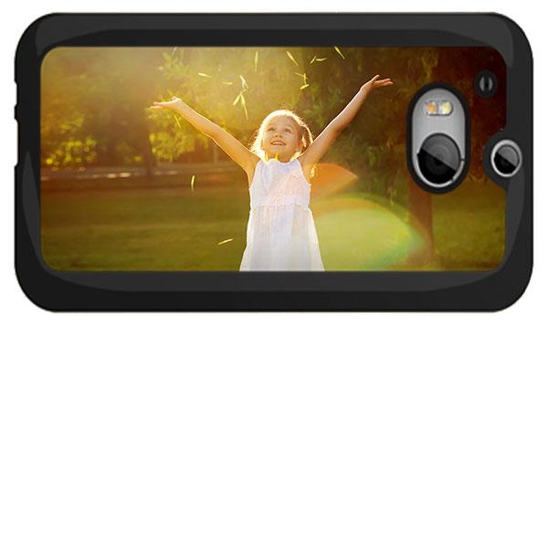 HTC One M8 Hülle selbst gestalten Hardcase