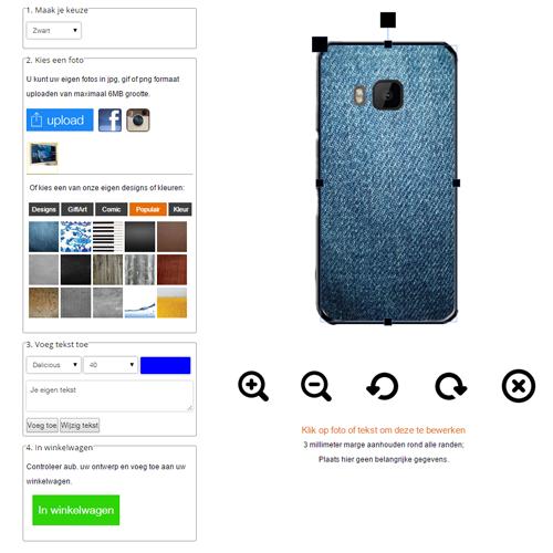 HTC One M9 Hülle mit Foto