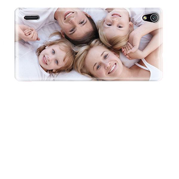 Huawei Ascend P7 Handyhülle mit Foto - Weiß