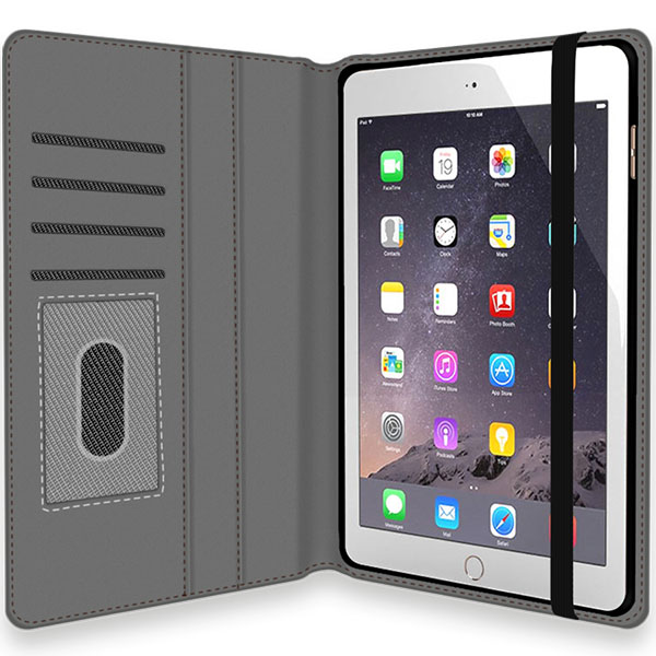iPad Air Hülle selbst gestalten (Portemonnaie Hülle)