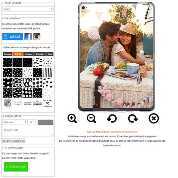 iPad Pro Hülle selbst gestalten mit Foto