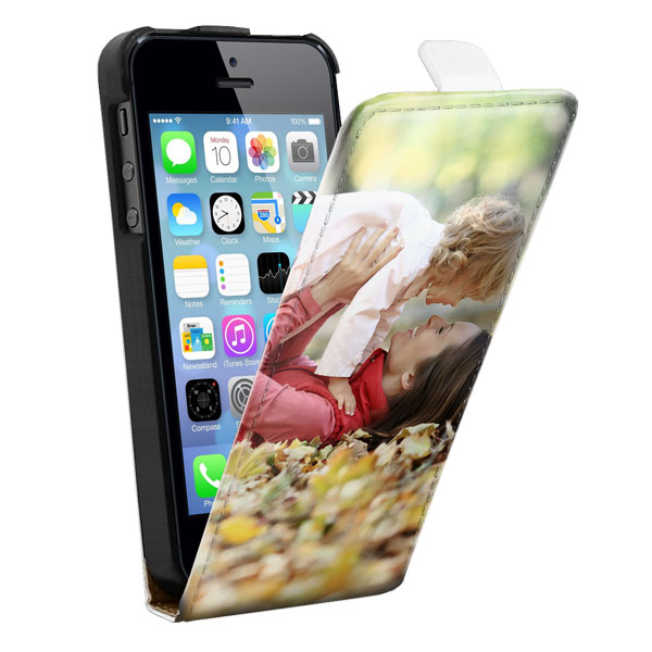 iphone 5 flip case selbst gestalten down flip cover. Black Bedroom Furniture Sets. Home Design Ideas