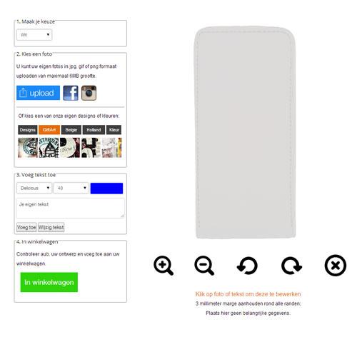iPhone 7 Flipcase selbst gestalten