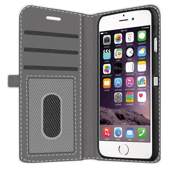 iPhone 6 Walletcase rundum bedruckt