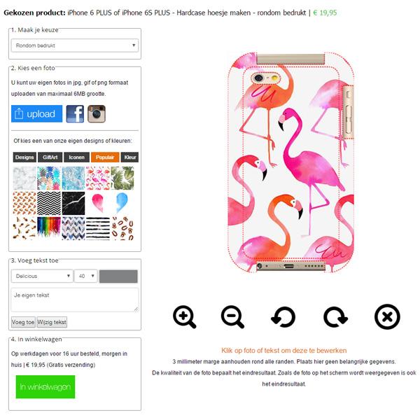 Rundum bedruckte iPhone 6 Handyhülle selbst gestalten