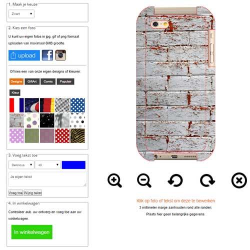 iphone 6 und 6s h lle selbst gestalten mit foto und text. Black Bedroom Furniture Sets. Home Design Ideas
