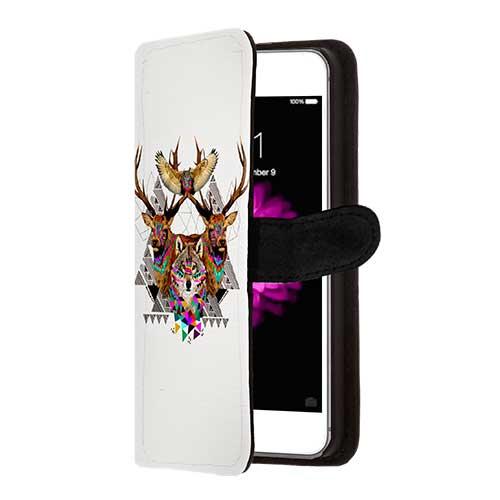 iphone 6 und 6s portemonnaie h lle selbst gestalten mit foto und text voderseite bedruckt. Black Bedroom Furniture Sets. Home Design Ideas