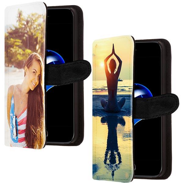 iPhone 7 Plus Wallet Case mit Foto