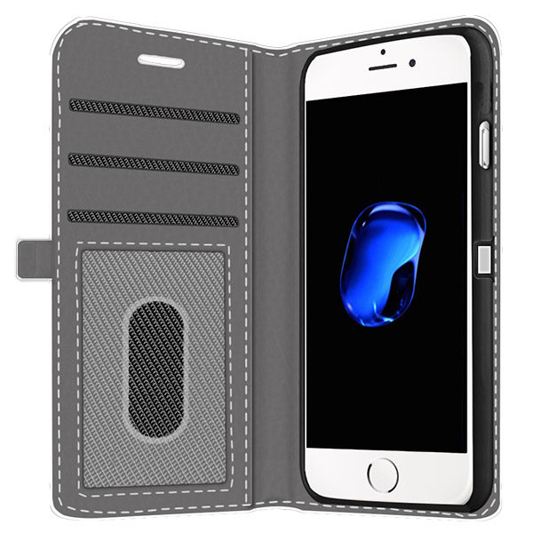 iPhone 7 Plus Wallet Case mit Foto