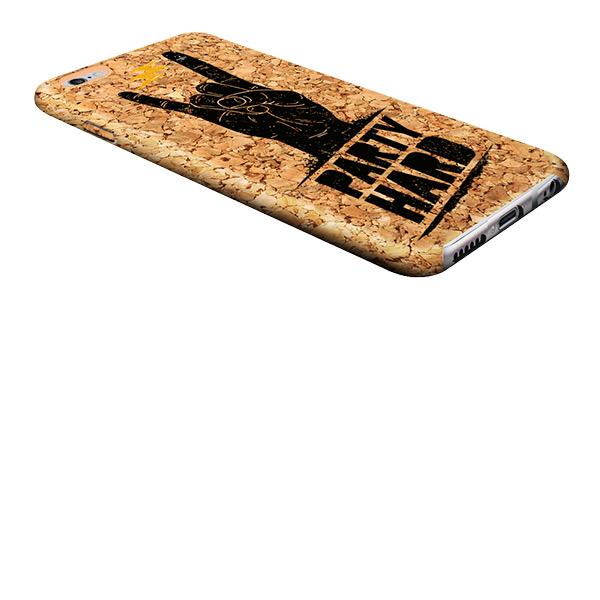 iPhone 6S Holzcase mit Foto und Text bedruckt