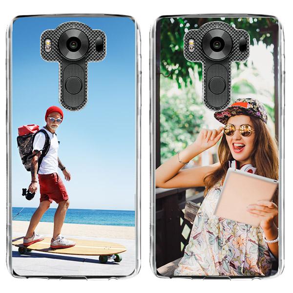 LG V10 Silikonhülle mit Foto