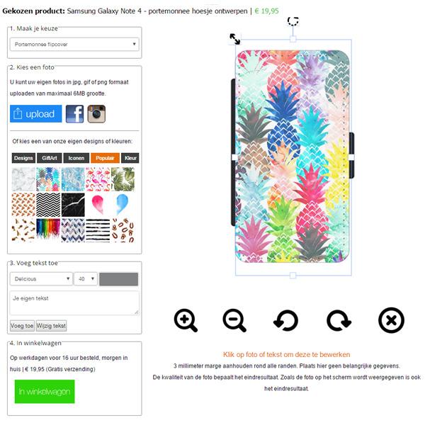 Samsung Galaxy Note 4 Portemonnaie Handytasche