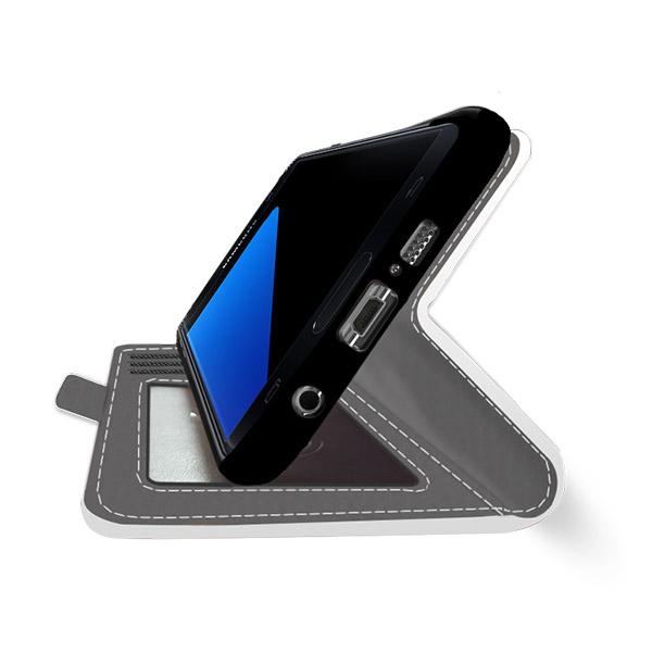 s7 edge flip case selbst gestalten cover mit foto. Black Bedroom Furniture Sets. Home Design Ideas