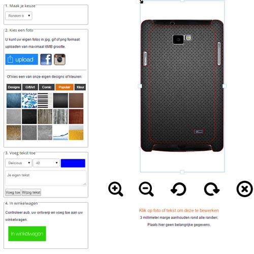 Samsung Galaxy S2 Hardcase selbst gestalten