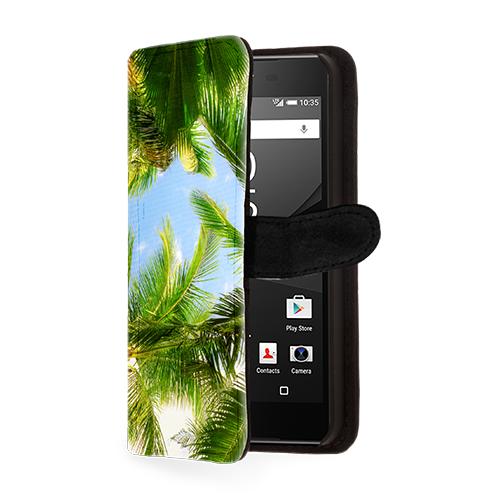 Sony Xperia Z5 Portemonnaie Hülle mit Foto